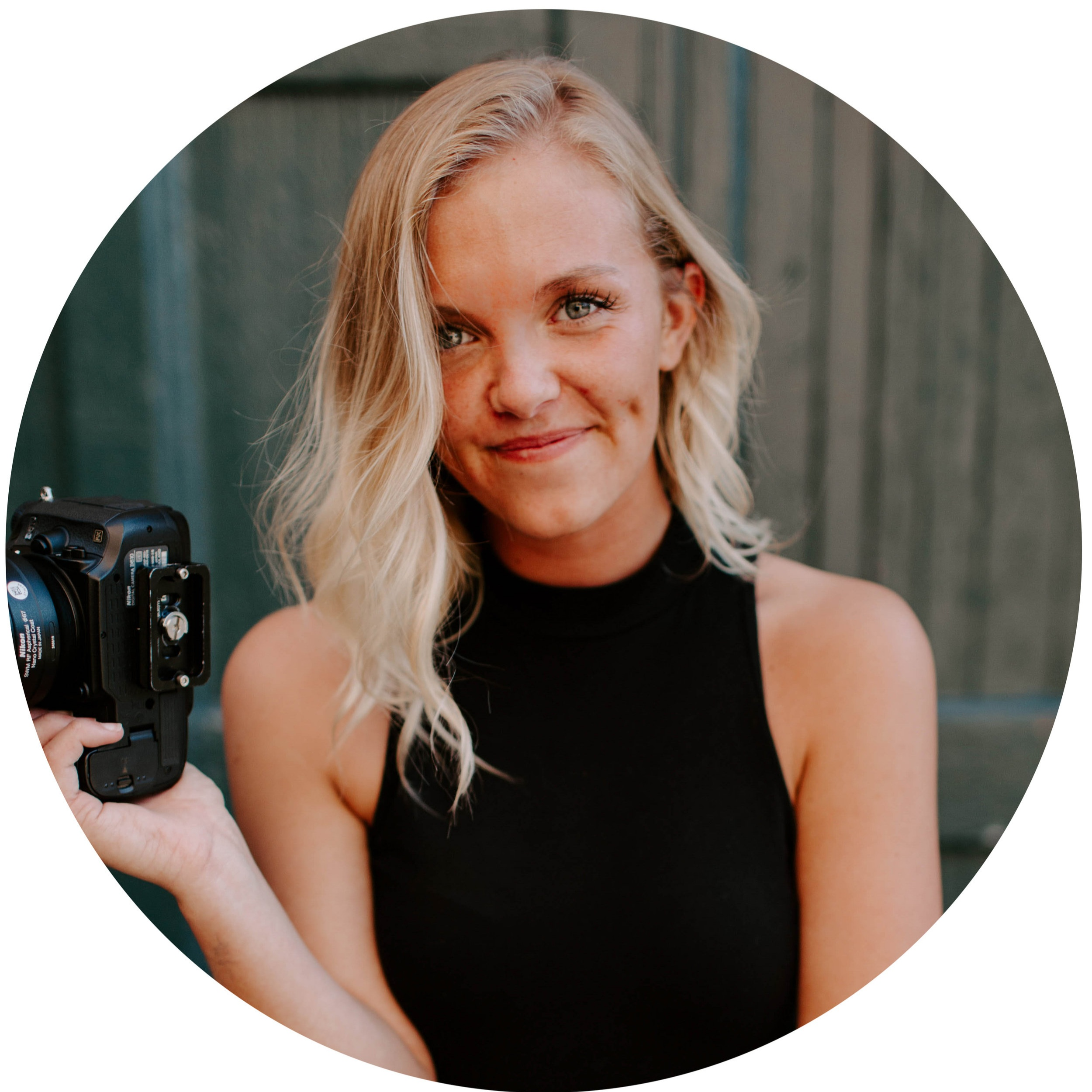Erin is one of our photographers! She lives in the beautiful Blue Ridge Mountains and loves photography and videography! Among the many things that make Erin a special part of our team, we love that she captures both photography and videography and has a great knowledge of both things! Erin is the sweetest and adds such a special touch to her client care when capturing your special day! We feel so fortunate to have her on our team!