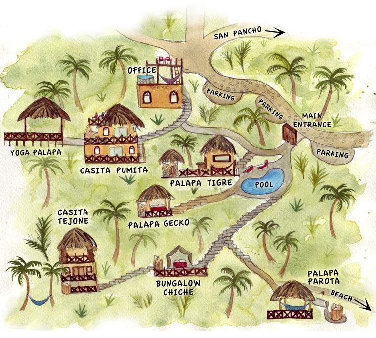 Tailwind Jungle Lodg property map