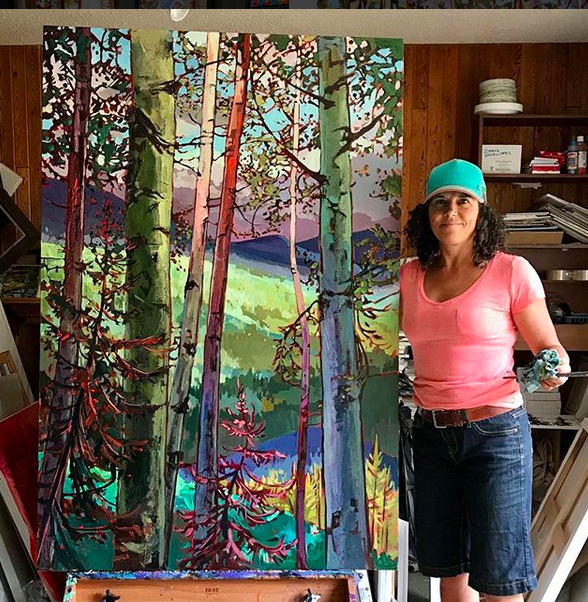 Stephanie Gauvin - Canadian fine art painter and free-spirit.Interview coming soon.