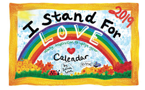 Sarah Love - This inspirational wildpreneur believes we can change the world from the inside out. It starts with turning up the volume of love in our hearts. Her love calendars offer daily motivation and mantras.
