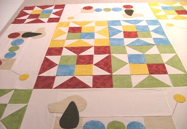 Puppy Quilt Top