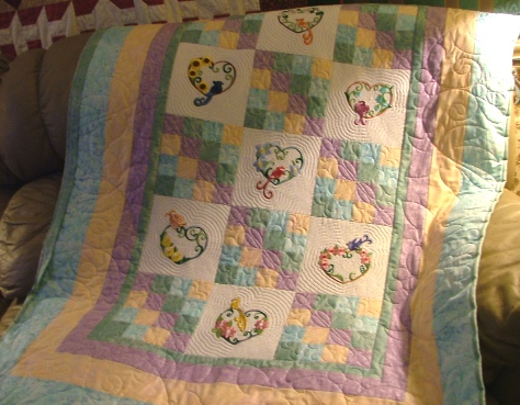 Fairy Frost quilt