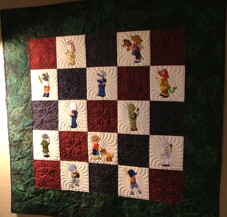 Boys at Play Quilt