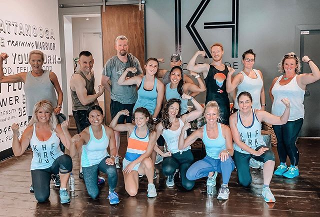 Rynsanity strikes again! Way to work you guys. Arm day is the best for post workout flexing selfies 😁💪🏼#werk #flex #pose #chattanooga #fitfam