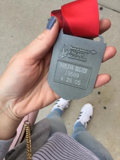 Got my medal engraved