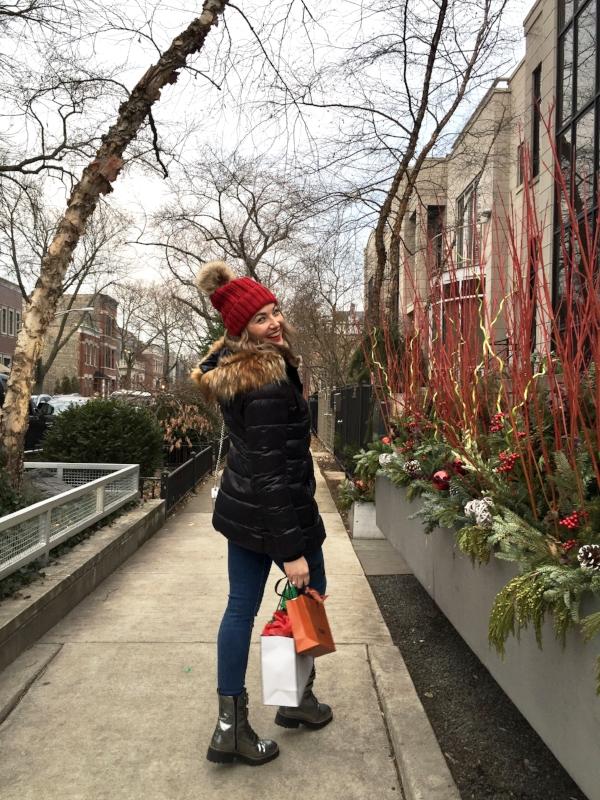 Walking into the Holiday week full of joy!