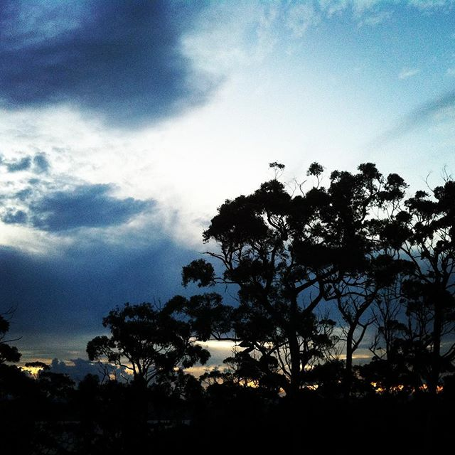 Rain Spirits. #tailoredtasmania #discovertasmania #tasmaniagram #discover #clouds #sky #dusk #beyond