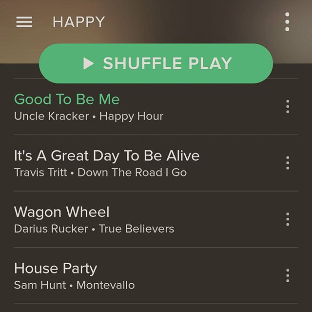 Love my Spotify to make my drives to work a little more fun. Off to eden prairie for an in home! #workflow #massage #minnesota #country