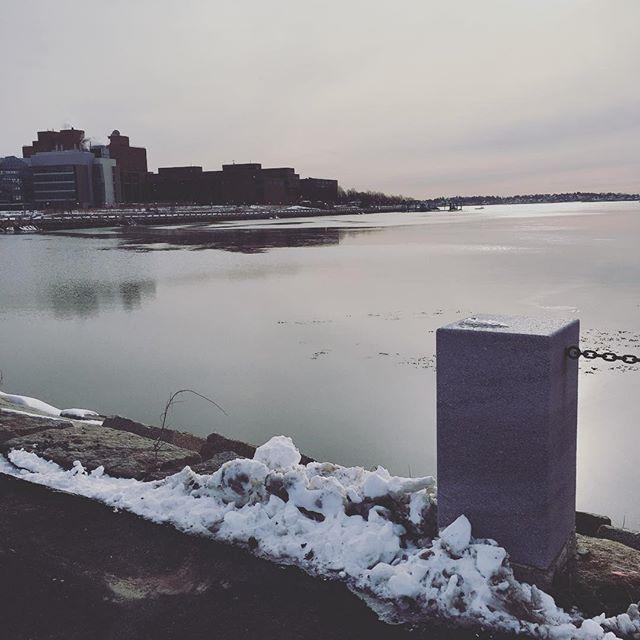 My walk to work