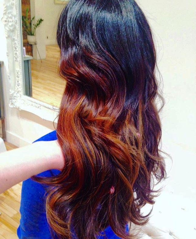 Copper swirls by Britta!