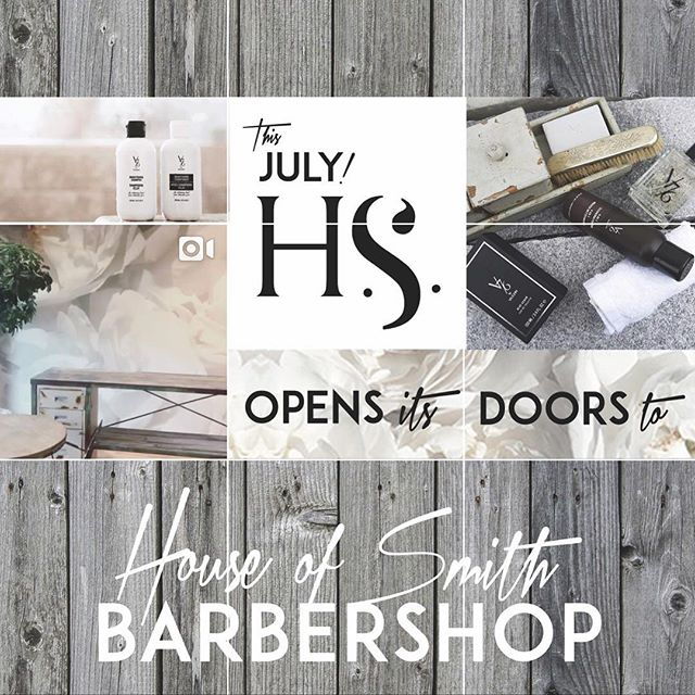 Did you know we are opening a barbershop very, very, soon?!!! 🖤💈Head on over to our new account @houseofsmithbarbershop to get updates on our progress and meet our barbers!