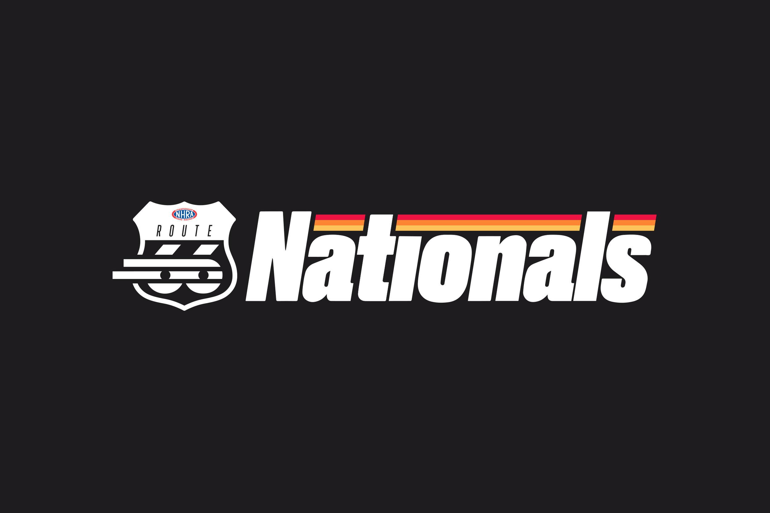 Route 66 Raceway Nationals Series  logo / Design