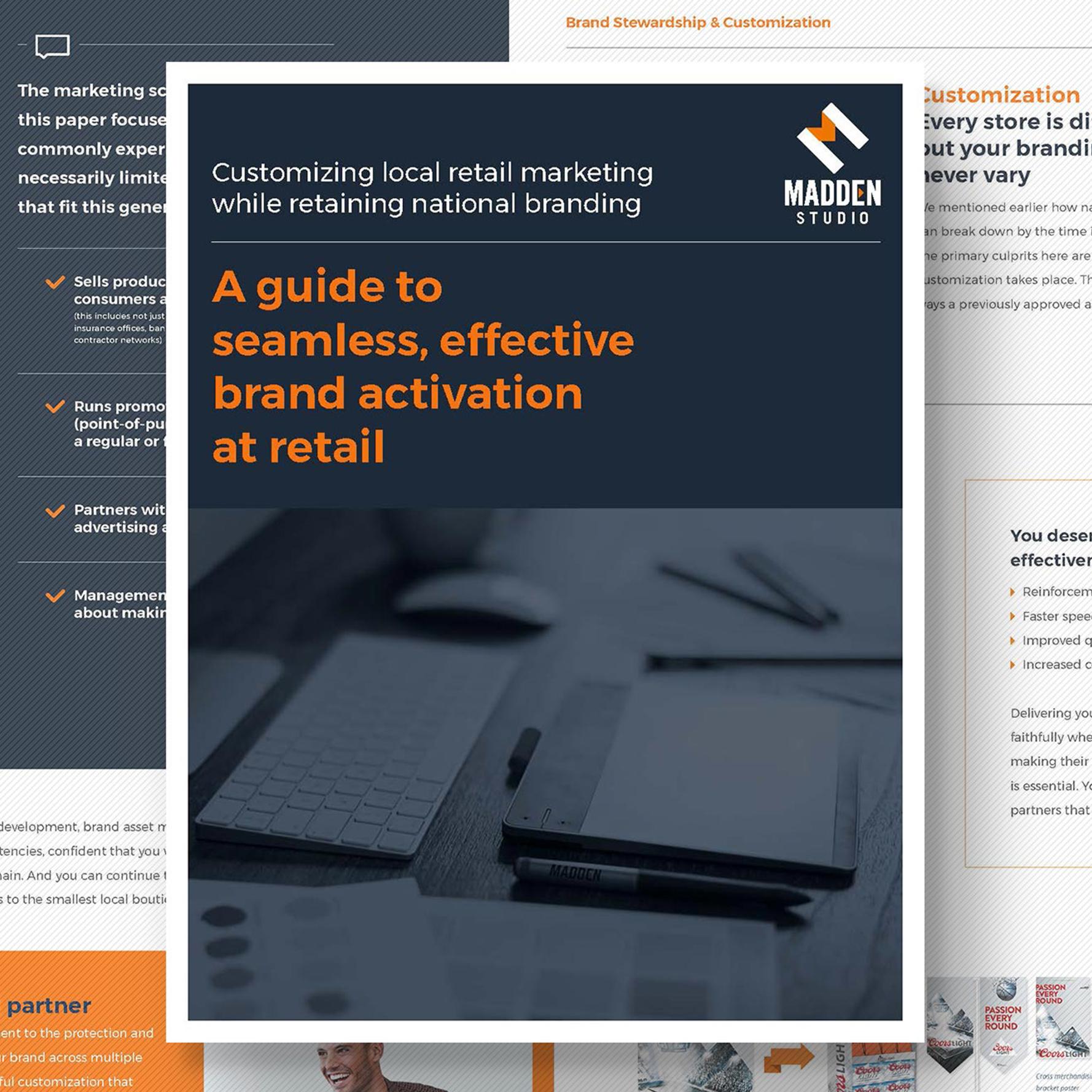Madden Communications  Whitepapers / Art Direction + Design