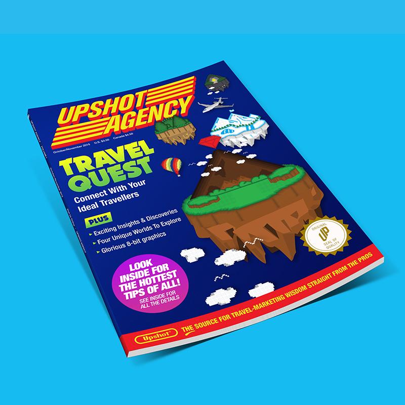Upshot's Travel Quest  / Art Direction