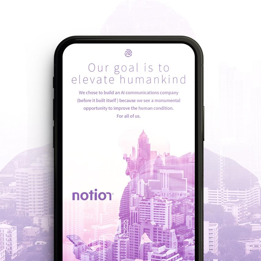 Notion  marketing website/ Art Direction