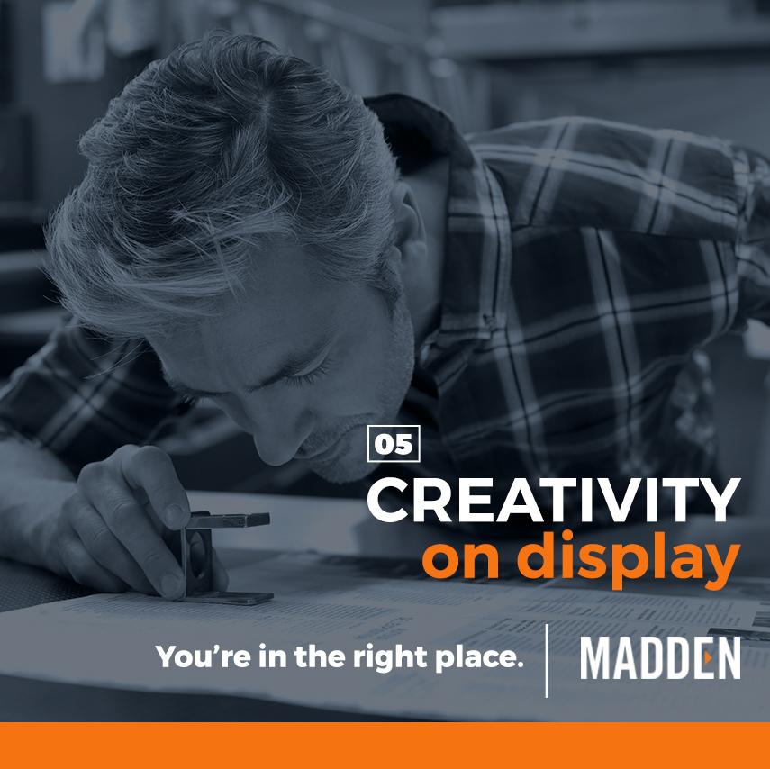 Madden Communications  Awareness Campaign / Art Direction + Design