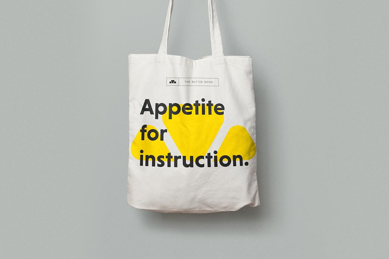 The Butter Book  visual identity / Design
