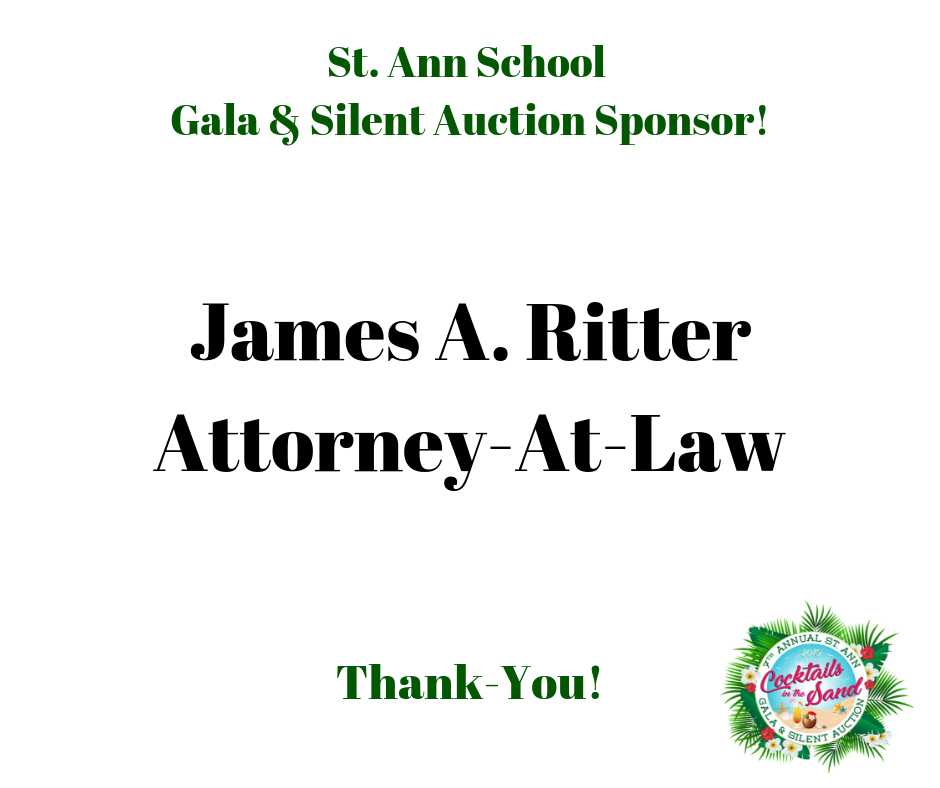 ritter_St. Ann School Gala & Silent Auction Sponsor!.png