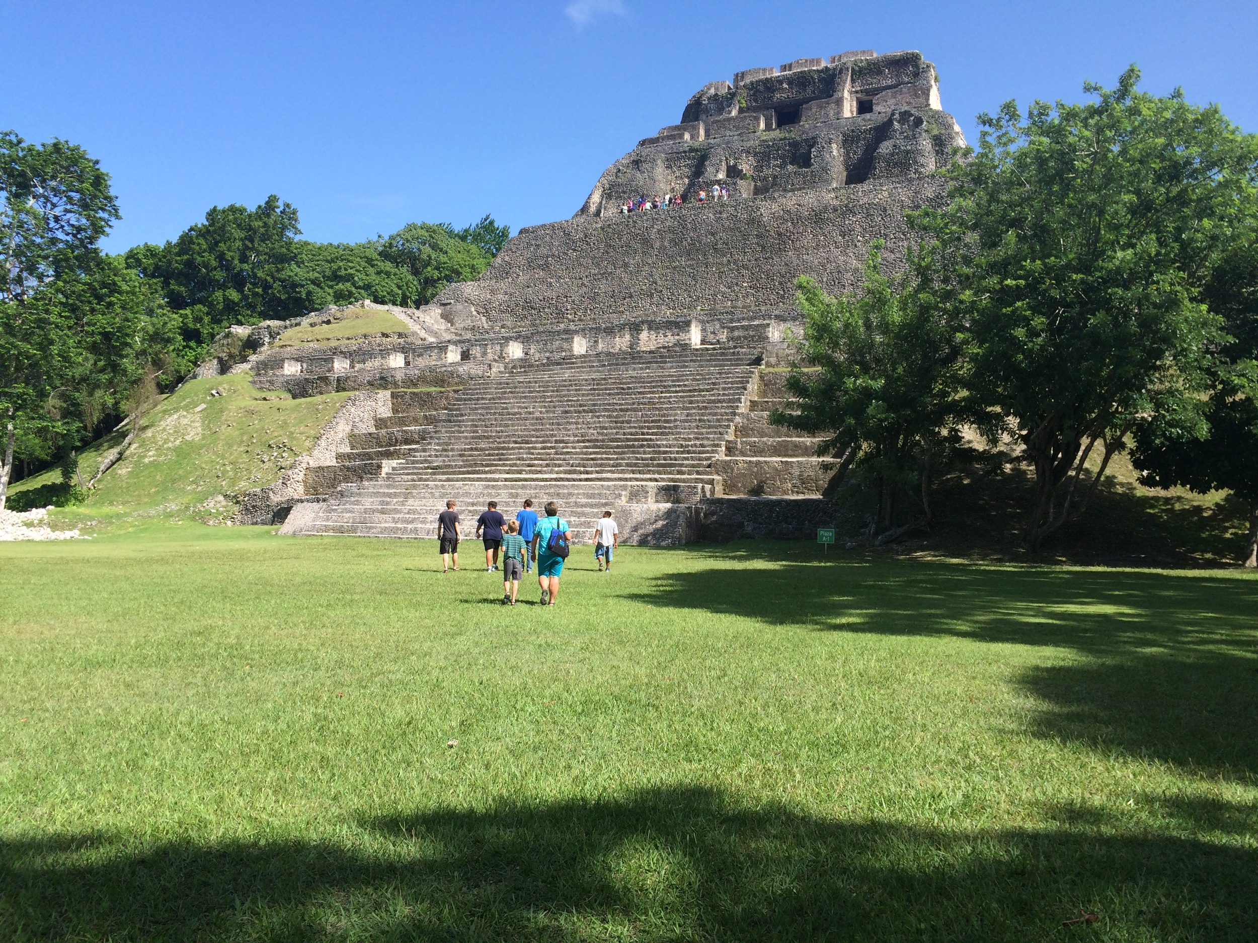 Mayan ruins can be found throughout Belize