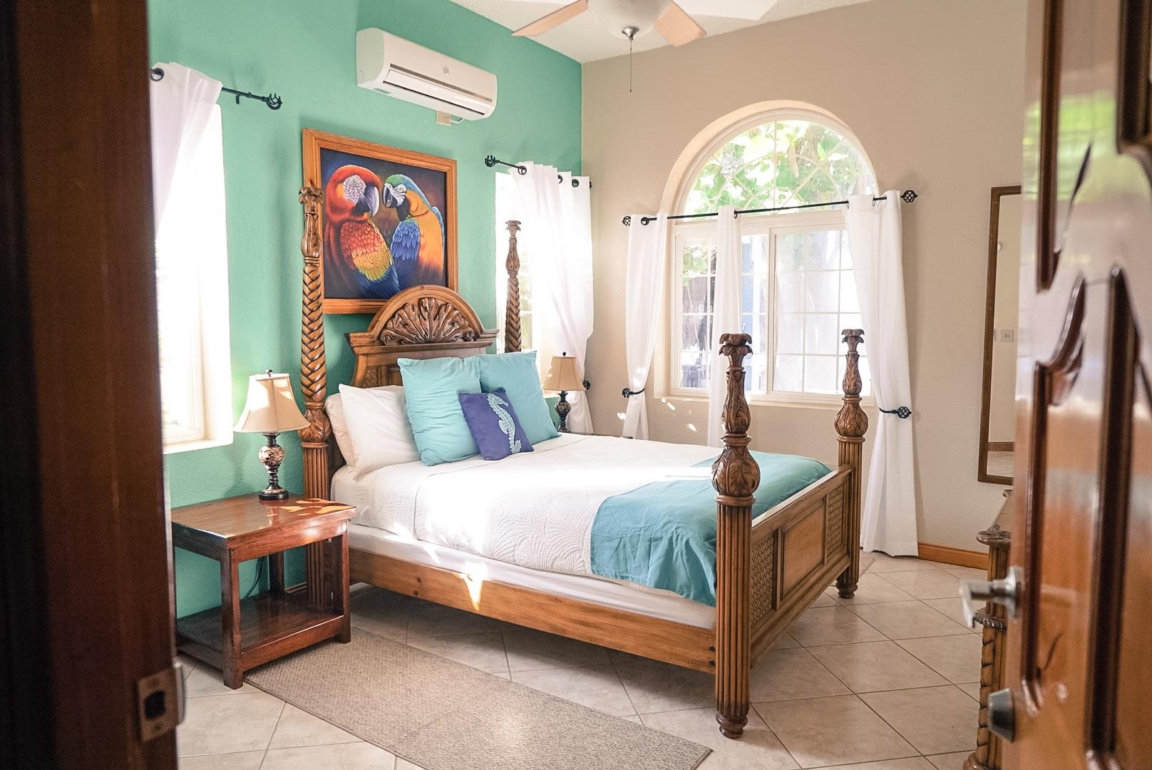 Master Bedroom Lower Villa