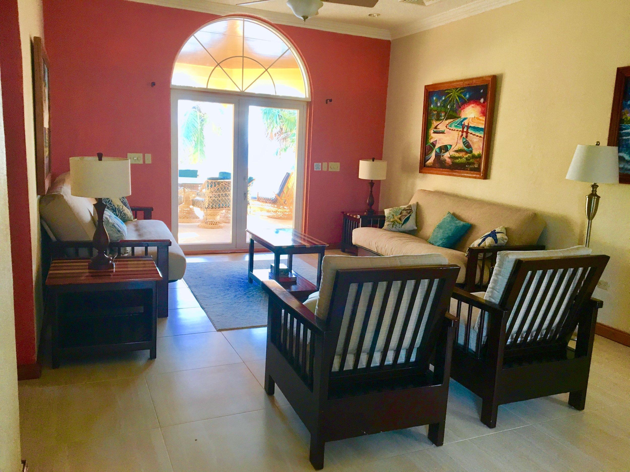 Living Room Upper Villa
