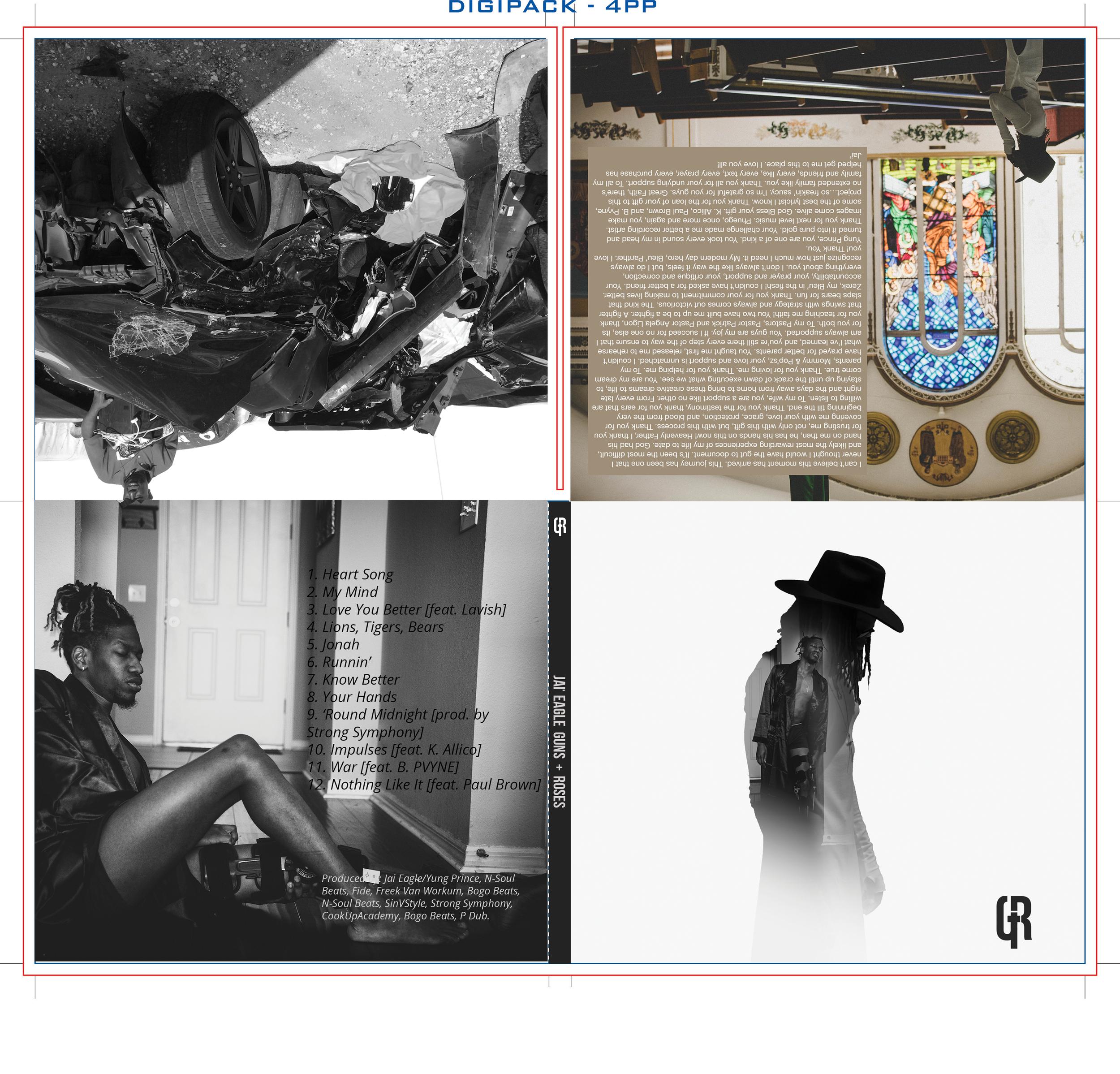 Guns + Roses Album — STUDIO 17 Creative