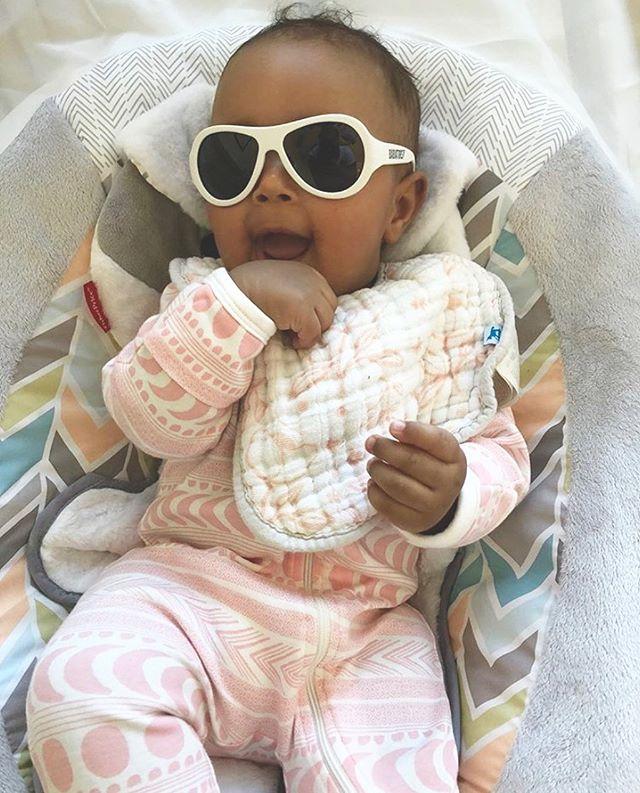 Someone's ready for summer! Baby Cairo looking ever so adorable in in our favorite aztec moon onesie 💗 🌙 📷: @tiamowry . . . . . #igkids#organicfashion #babyfashion#blogger#instakids #smallshop#ig_motherhood#motherhood#babygift#ig_minis#igbabies#purelylovedorganics#wilsonandfrenchy#organiccotton#instagood#instababy#babylife#holle#holleorganicsformula#babylist#newmom#boutique#pnw#darling#love#baby