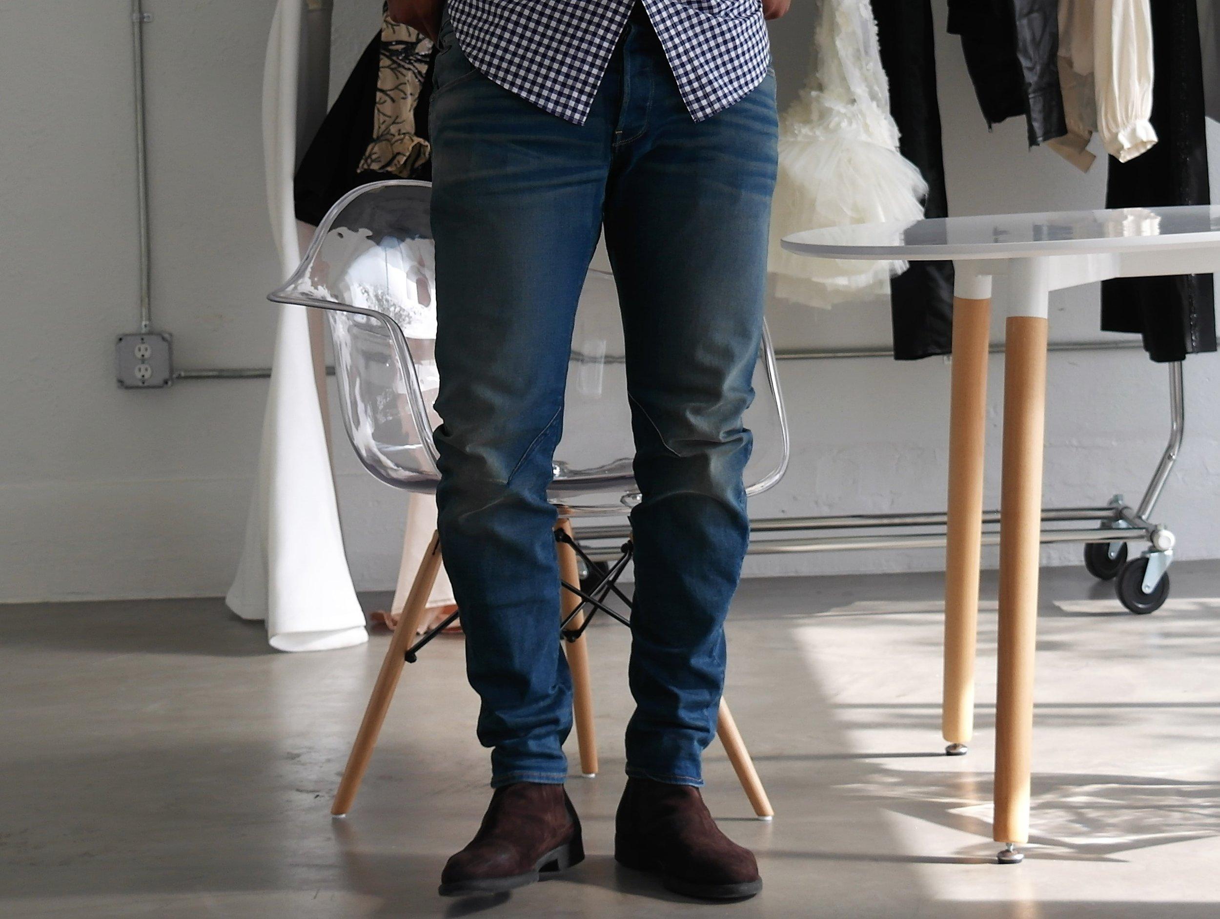 G-Star Denim click    Here       |  Dark Brown Chelsea Boots similar      Here