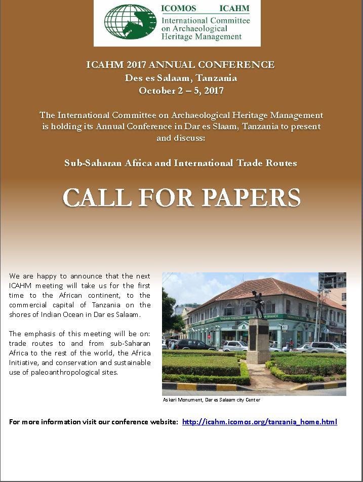ICAHM 2017 Annual Conference Dar es Salaam.JPG