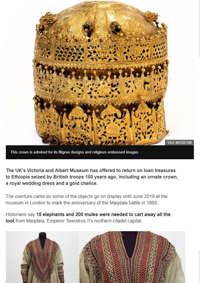 Ethiopia and V&A Museum.JPG