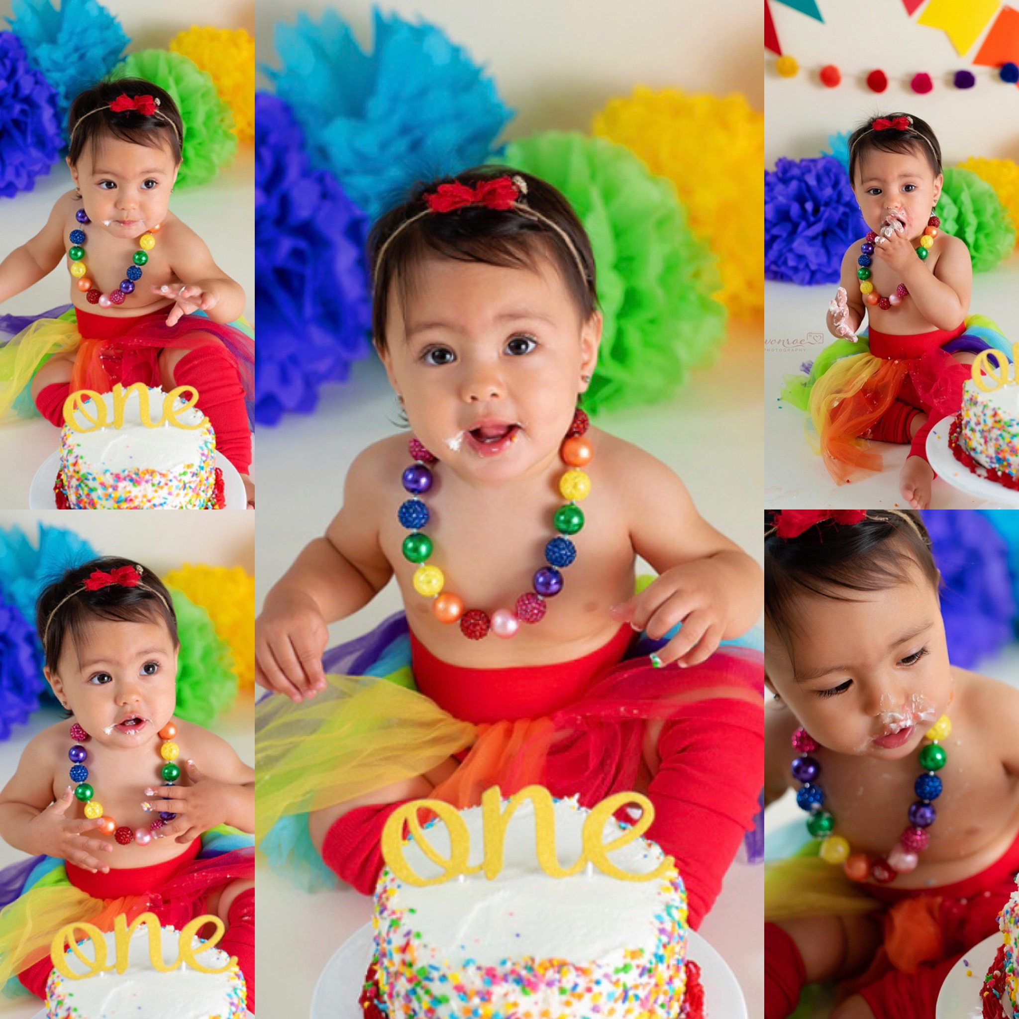 Cake Smash/Paint Splash/Birthday Portraits