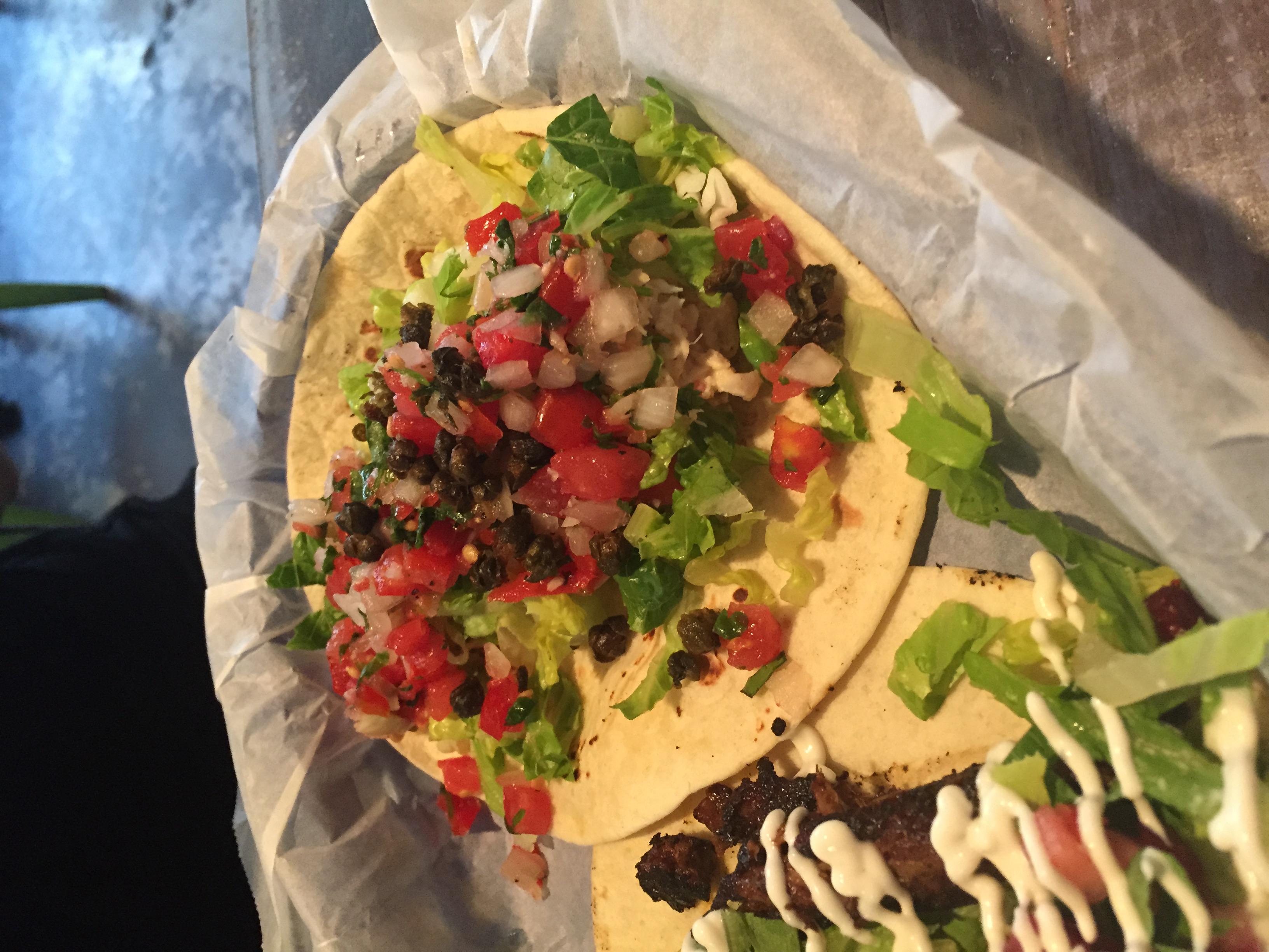 Lump Crab Salad Taco