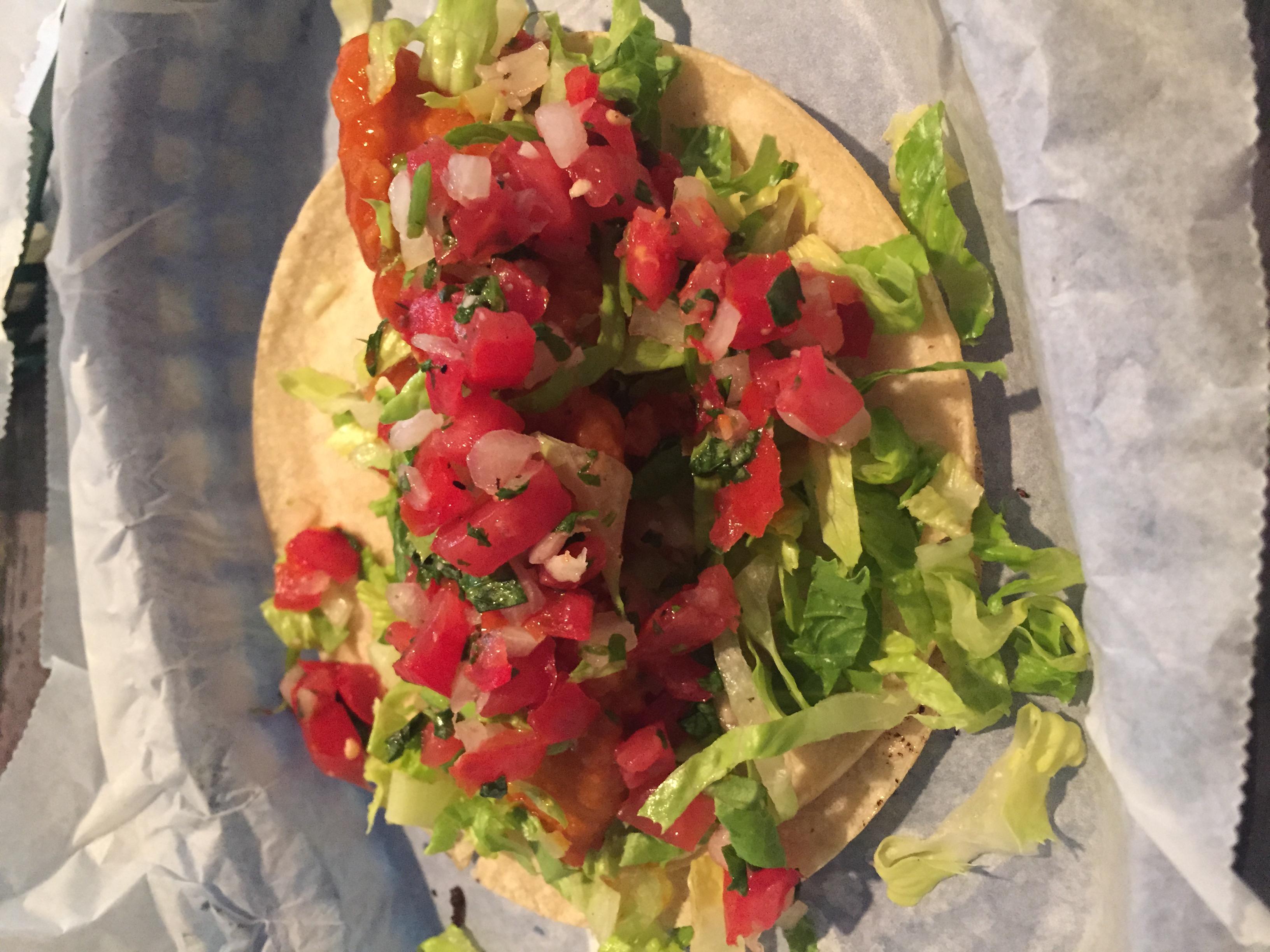 Buffalo Chicken Taco