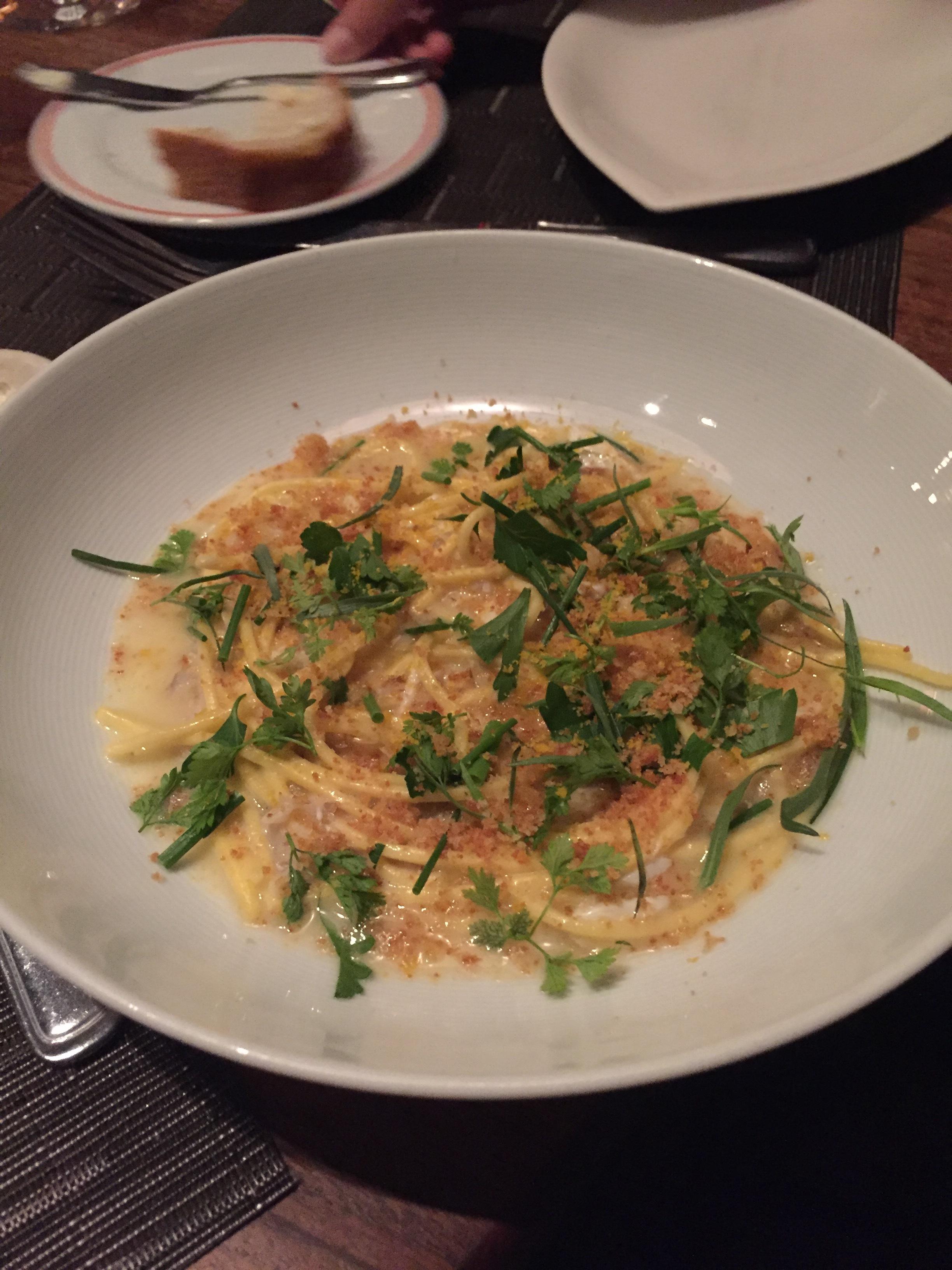 Fresh Spaghetti & Blue Crab