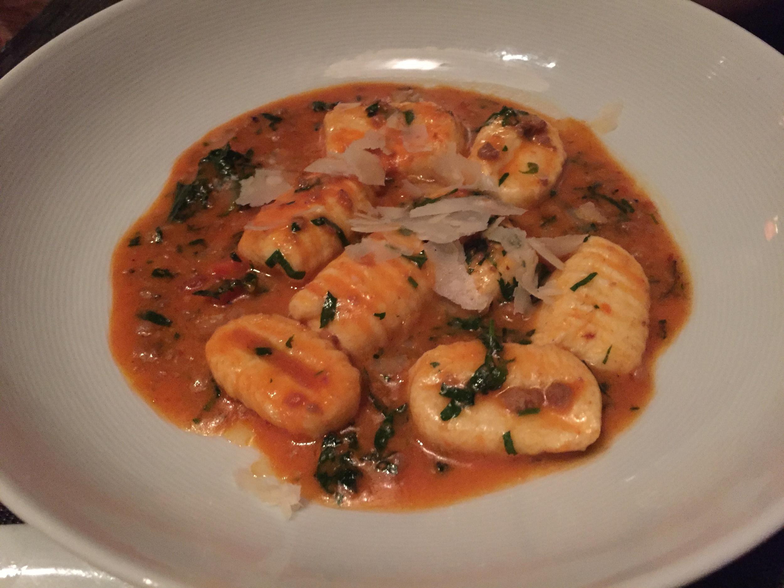 Ricotta Gnocchi with Pork Bolognese