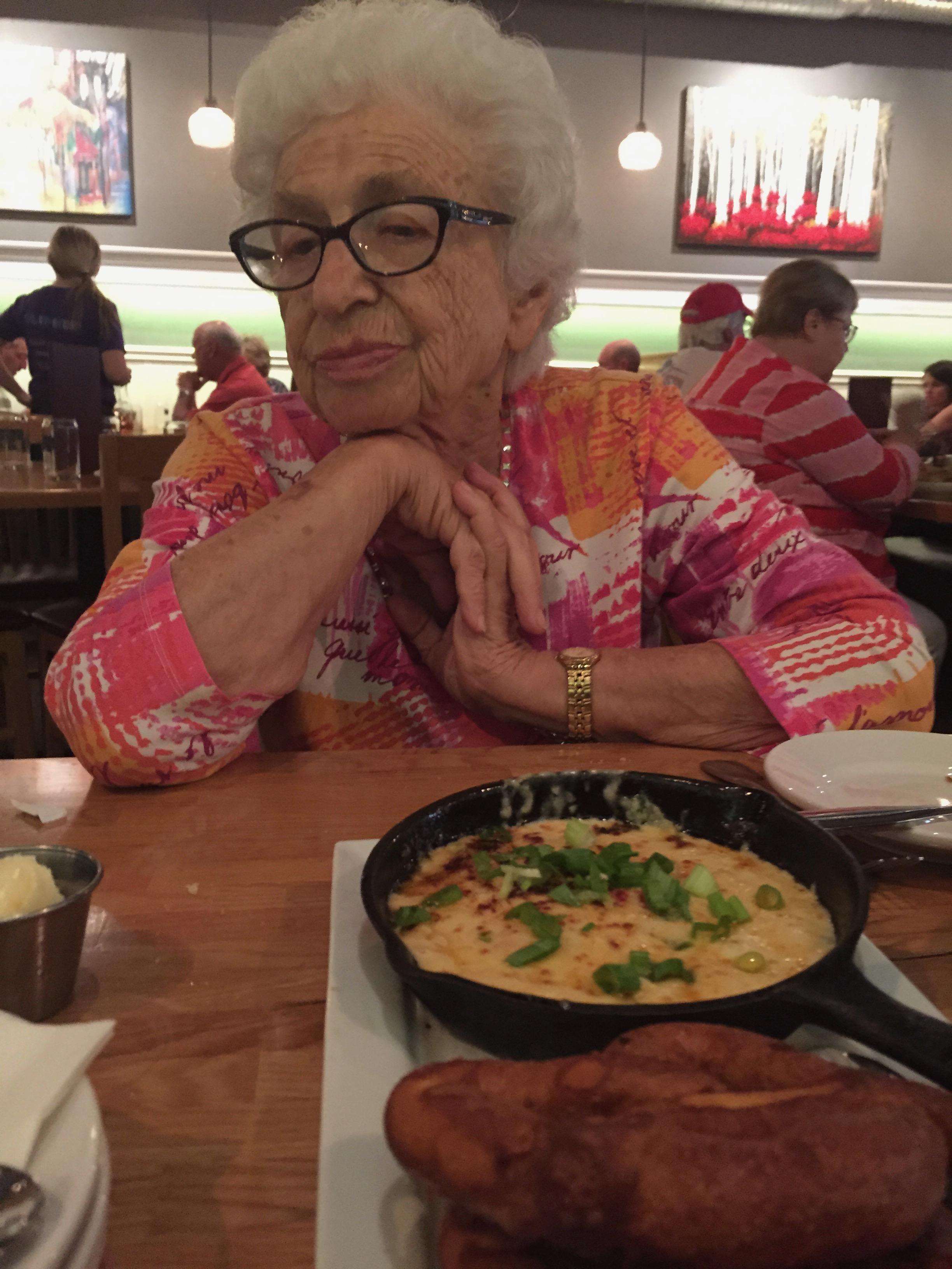 Grandma: not amused.