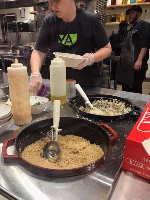 Rice and bulgur wheat