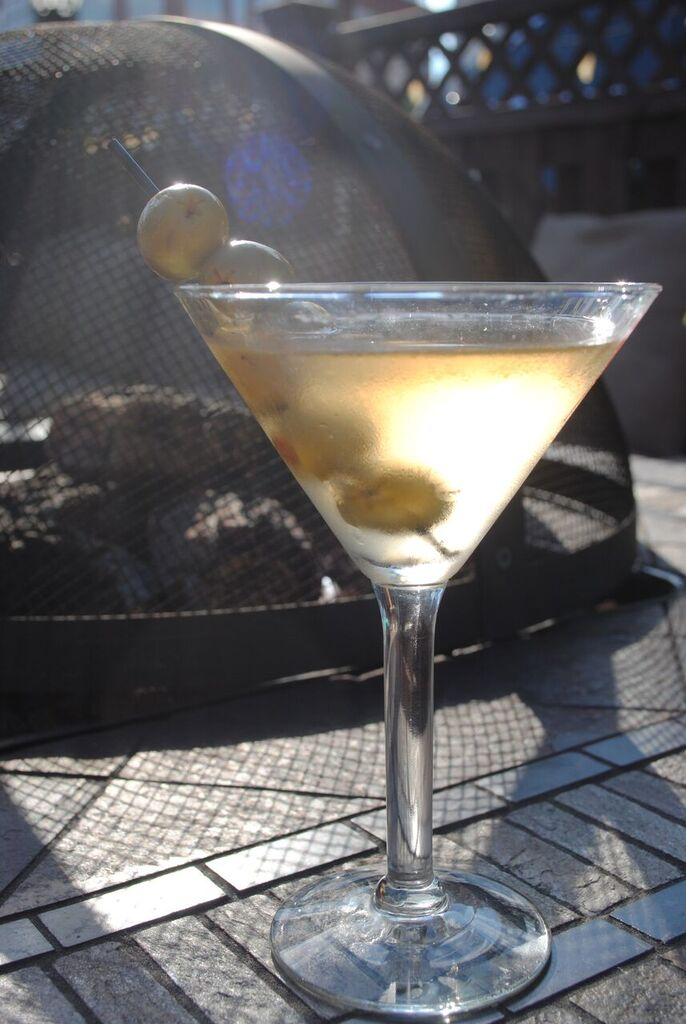 Dougbert's Dirty Martini
