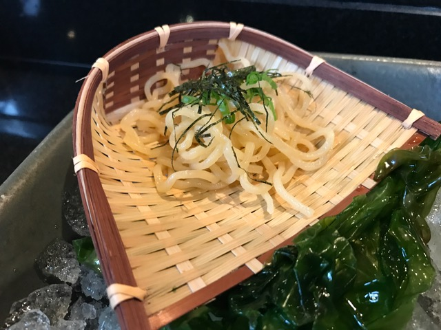 Noodles made from cassava root!