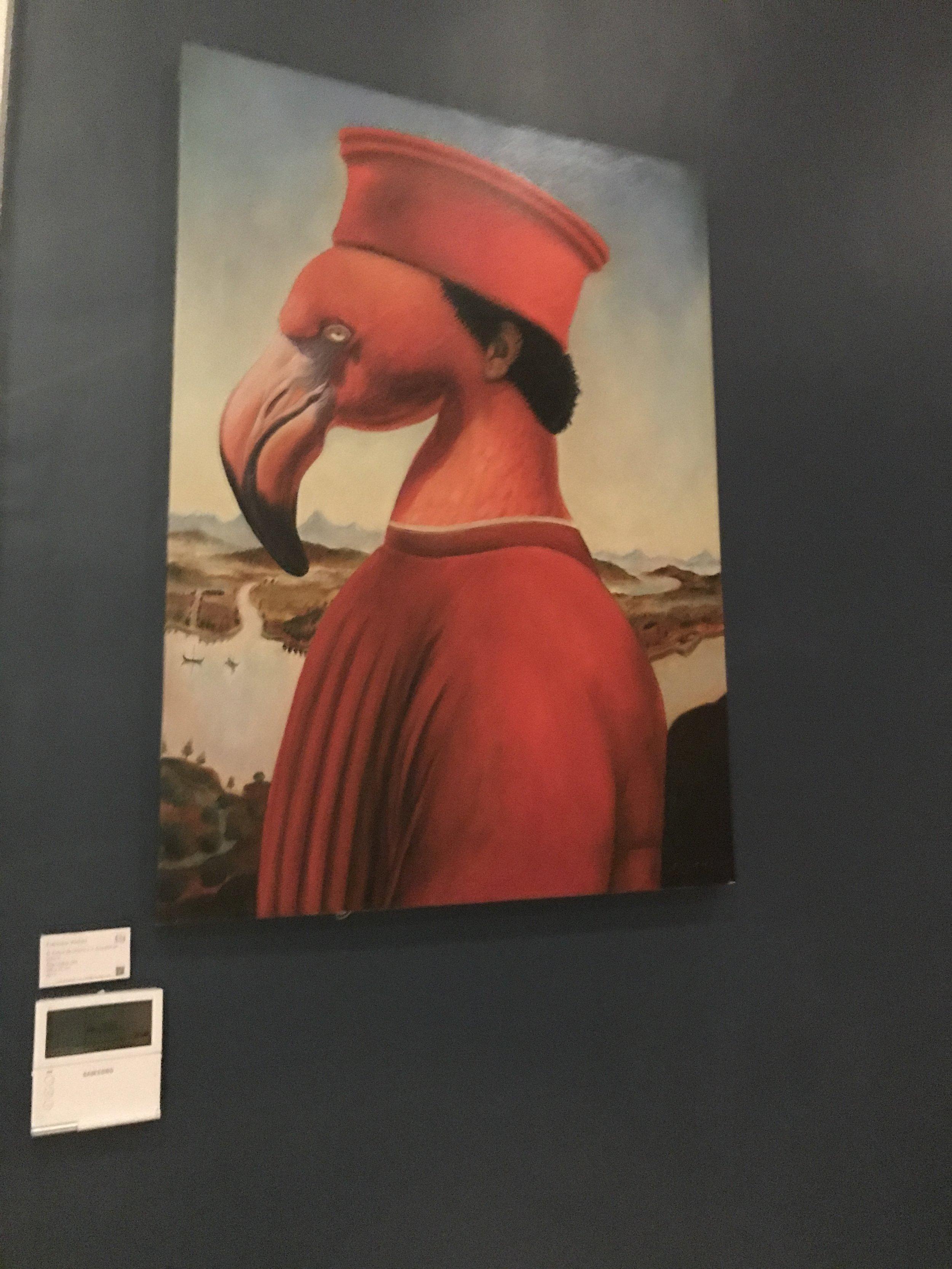 Cardinal Flamingo