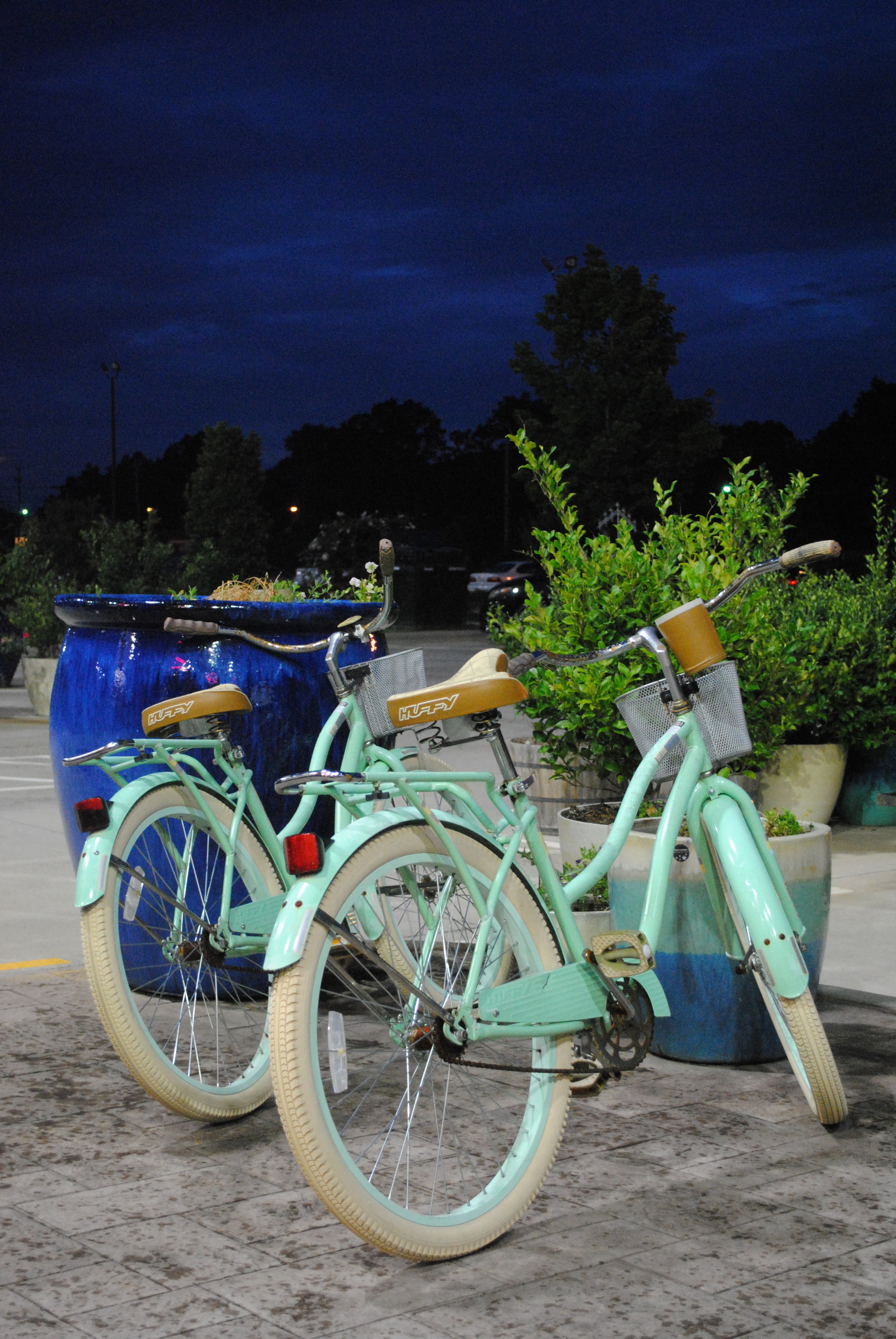 Decorative bikes feeling oh so European