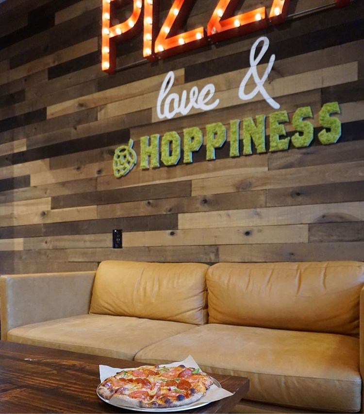 Pizza, love, and hoppiness//image courtesy of the  YourPieClt Instagram page