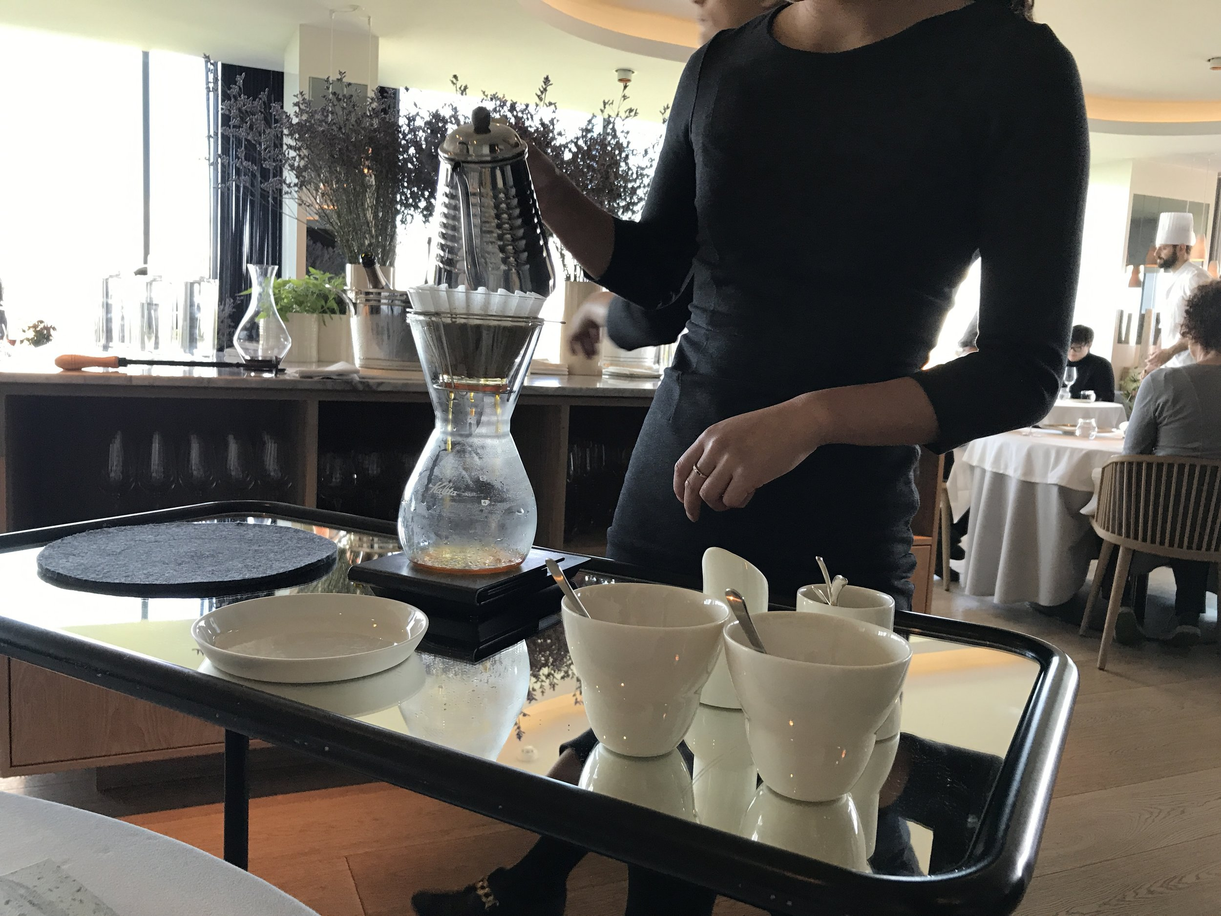 A coffee lover's pour over dream