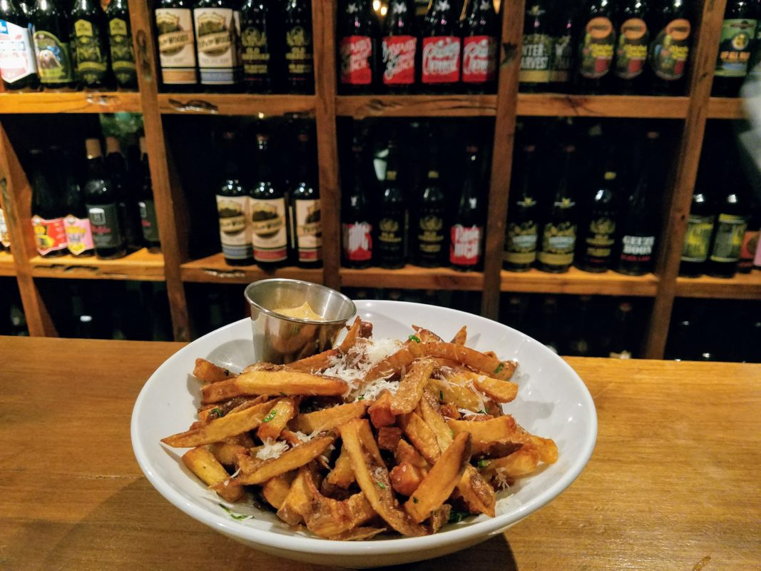 Truffle fries//Image courtesy of Loop Charlotte