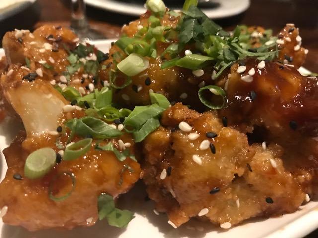 General Tso's Cauliflower - Thai chili sauce, ginger aioli
