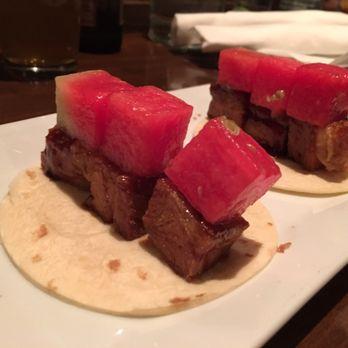 Asian Glazed pork belly taco - Image courtesy of Yelp