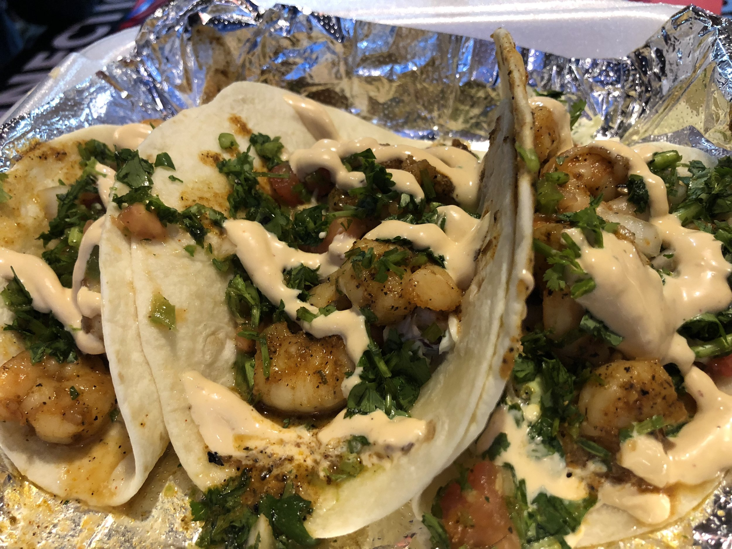 Shrimp Tacos - solid