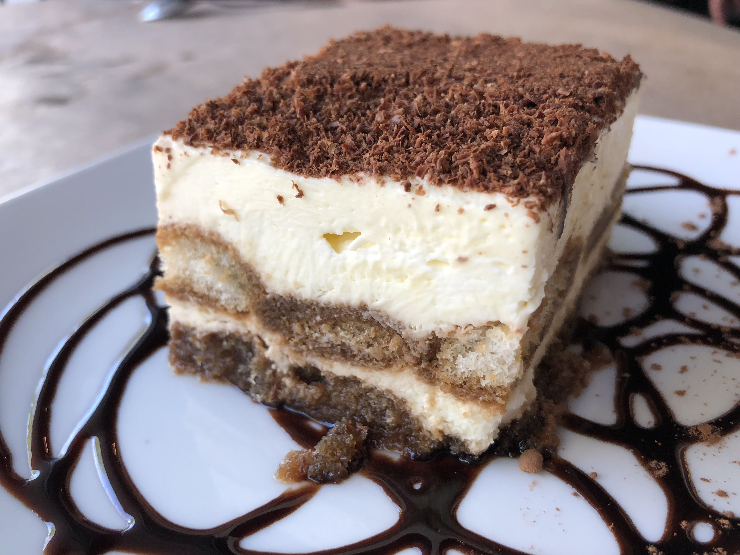 House-made Tiramisu - as fluffy as a cloud