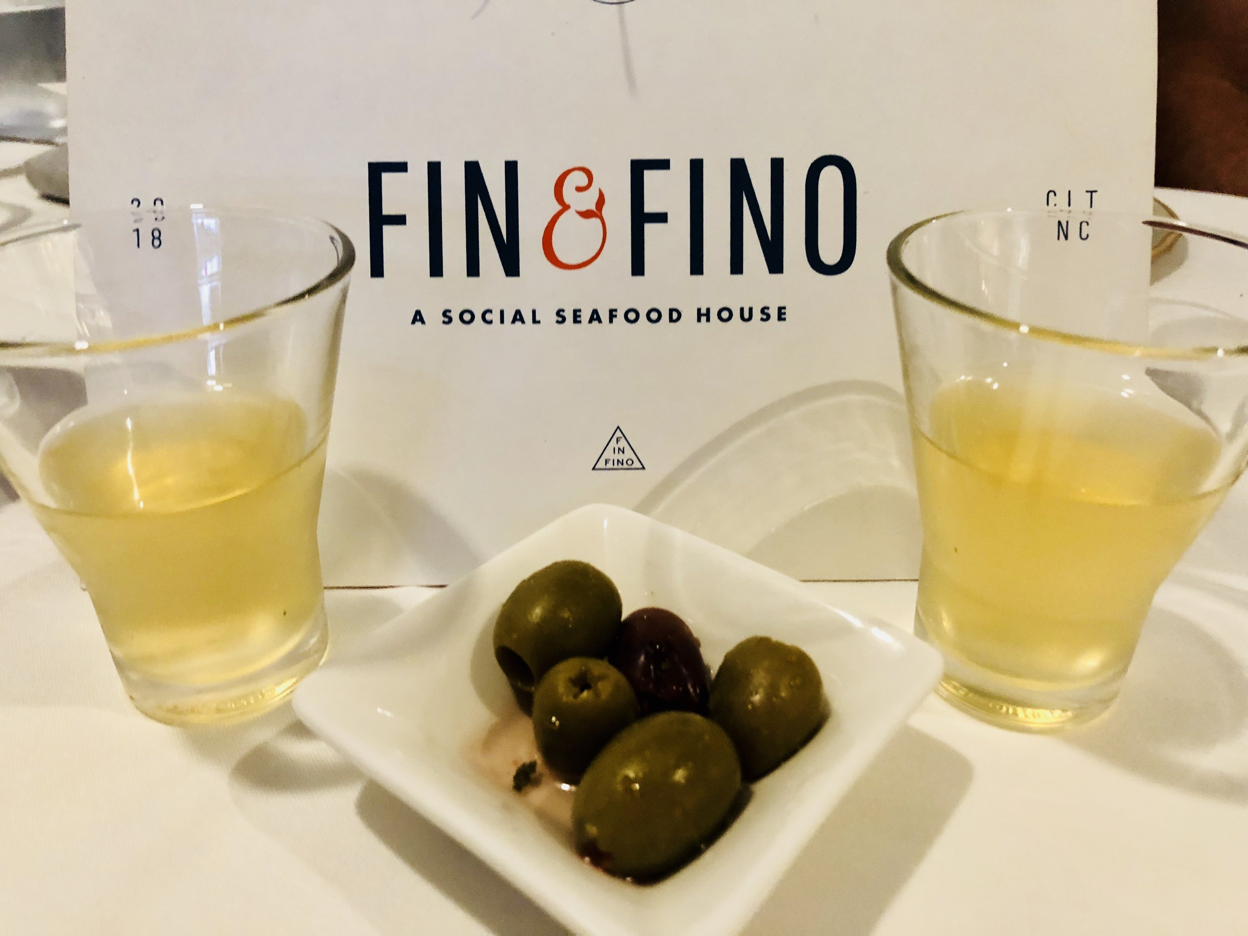 Sherry & Olives - an amuse-bouche for every table