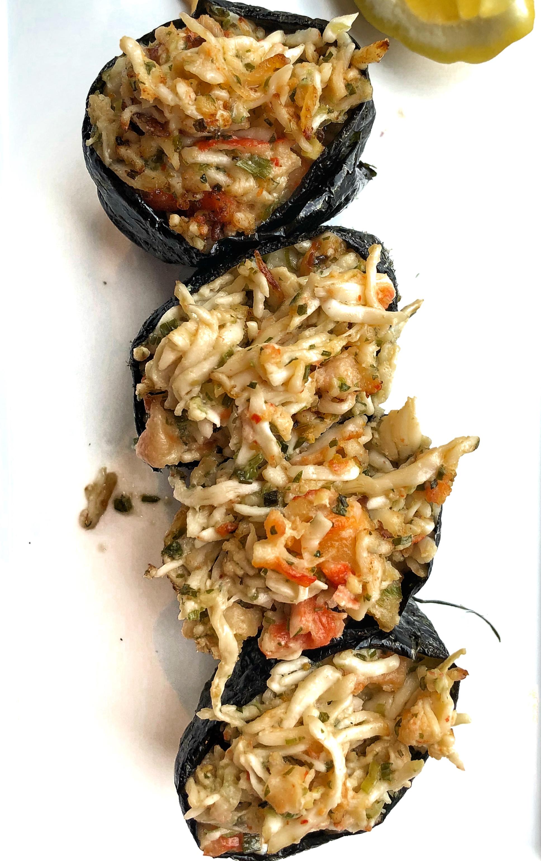 Angry Crab - Baked King Crab Gunkan
